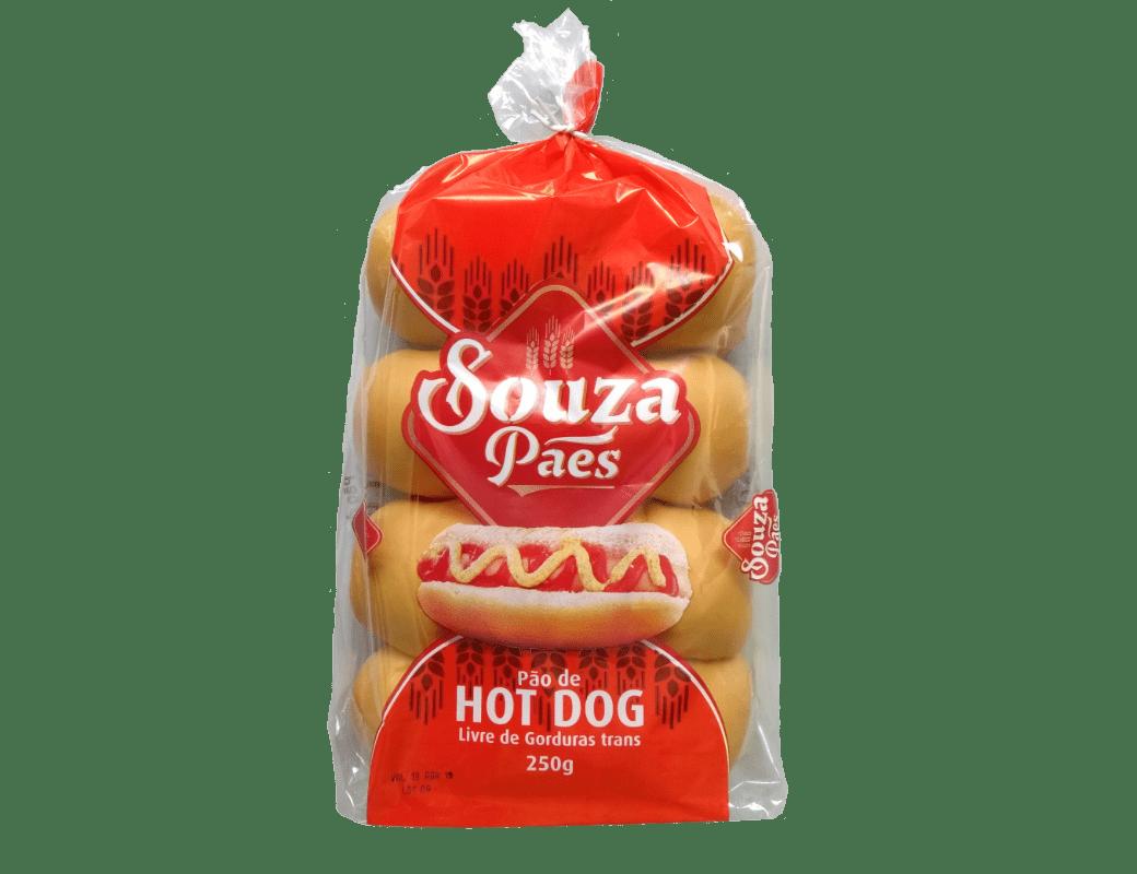 Pão de HotDog (250g)