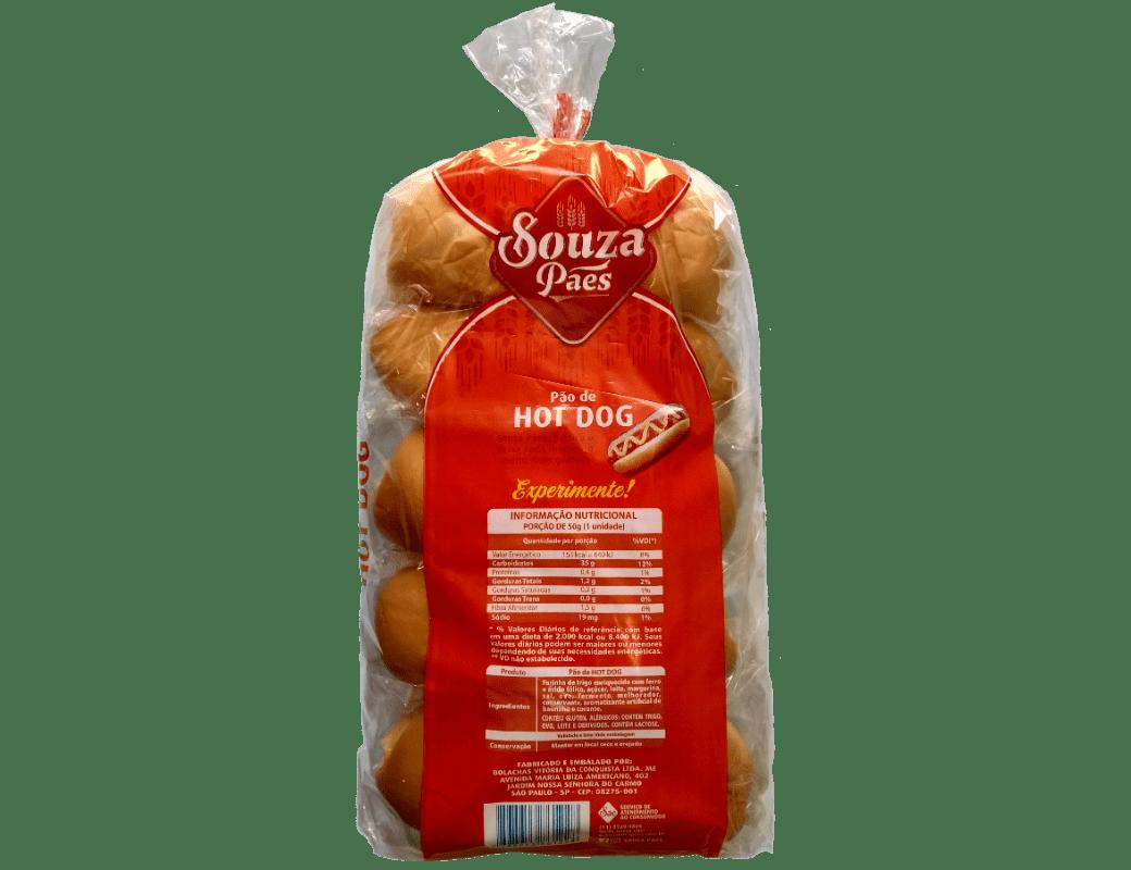 Pão de HotDog (600g)