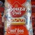 Pao cachorro quente e hamburguer